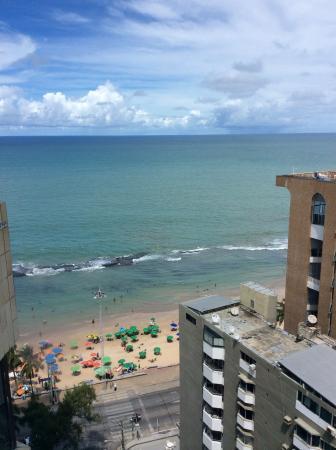Grand Mercure Recife Boa Viagem: Vista do 17 andar