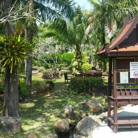 Hotspring Beach Resort & Spa: Atmosphere