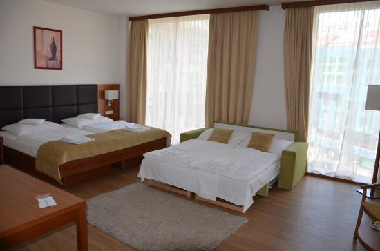 Ankora: großes Familienzimmer