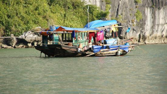 Cua Van Floating Village