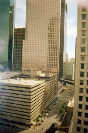 DoubleTree by Hilton Hotel Houston Downtown: One view from my sitting area