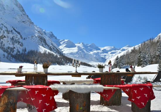 Hotel Roseg Gletscher 사진