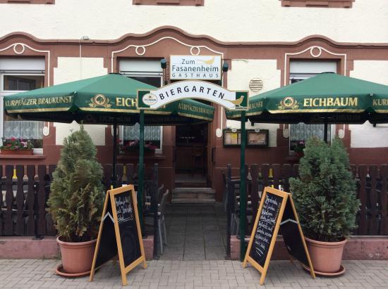 zum fasanenheim ludwigshafen restaurant reviews phone number photos tripadvisor. Black Bedroom Furniture Sets. Home Design Ideas