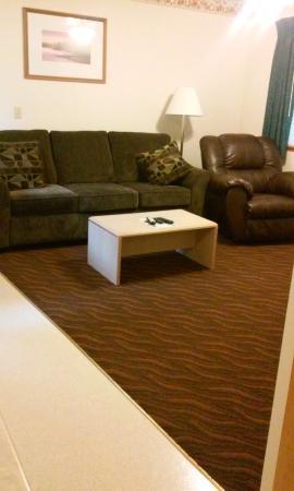 Ocean Suites: the living room:)