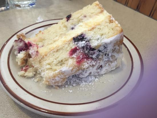 Glencoe, MN: Lemon cream blueberry cake..... 'Nuff said