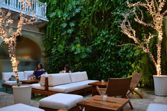 Tcherassi Hotel: En realidad es un lugar tranquilo y fashion donde se puede descansar y conversar sin prisas