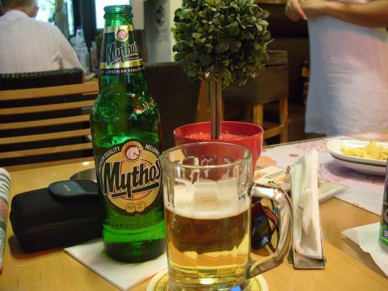 La Piazza Pizzeria : Best beer !!!!!!