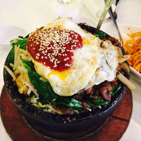 Joy Yee's Noodle Kitchen: Traditions stone bowl