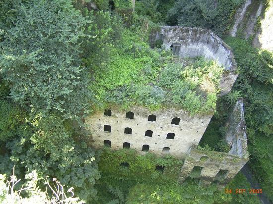 Hotel Delle Palme : A ruin in Sorrento