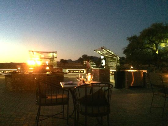 Dining Under The Stars Picture Of Sossusvlei Lodge Sesriem TripAdvisor