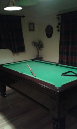 Alverna House B&B: play room with the pool table