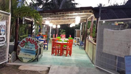 Las Palapas restaurante y hotel de punta allen