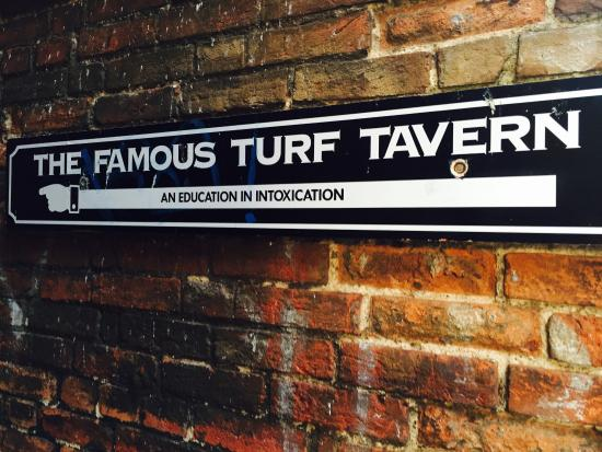 "The Turf: Oxford University: The bar where Bill Clinton famously ""Did not Inhale"""