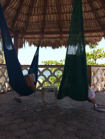 Hotel Flor de Maria : Siestas in the roof