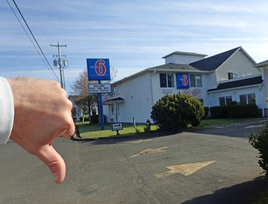 Motel 6 Seaside Oregon: Dive