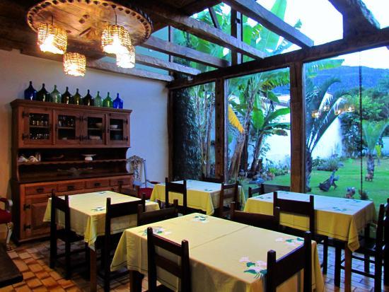 Sala do caf da manh picture of pousada rustica - Sala da pranzo rustica ...