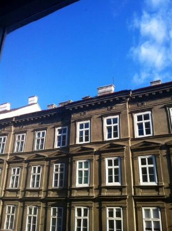 Hotel Kugel: The view from room 233
