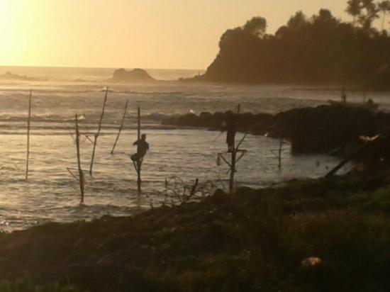 Ахангама, Шри-Ланка: Fisherman
