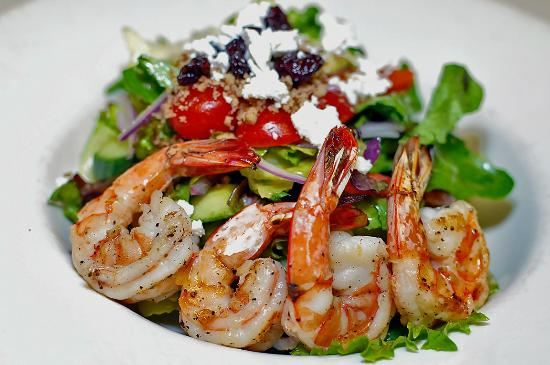House of Himwitsa : Shanty Salad with Prawns