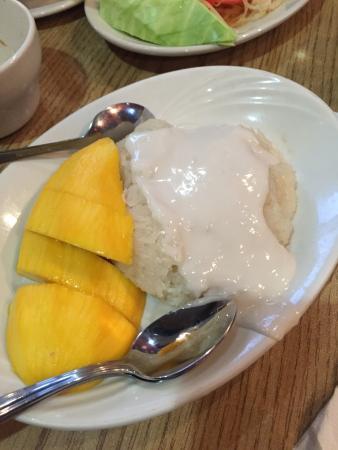 Khow Thai: Mango & sticky rice, delicious