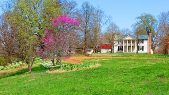 Spring at the Sam Davis Home