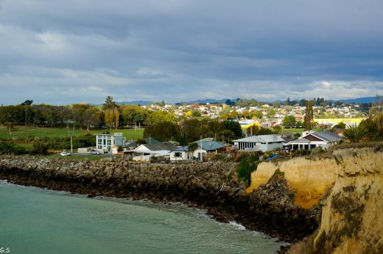 Pleasant View Bed & Breakfast Timaru : View by the house