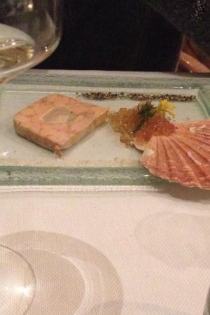 Le Vivier : Foie gras noix de saint jacques