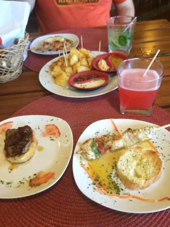 El Bocadito Tapas Restaurante Bar : Most of our yummy food