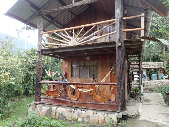 Yankuam Lodge: our cabin