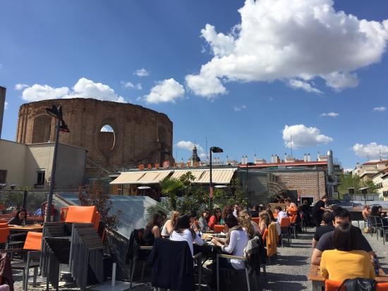La Terraza Fotografía De Gau Cafe Madrid Tripadvisor