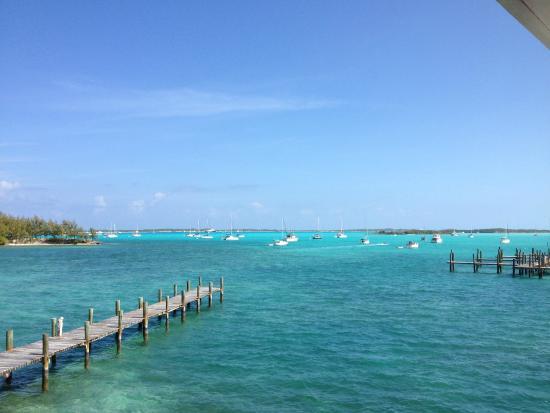 Exuma Yacht Club: The view