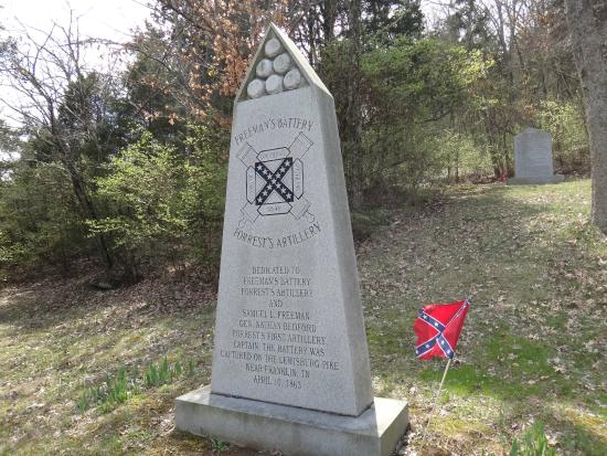 Confederate Memorial Park at Winstead Hill
