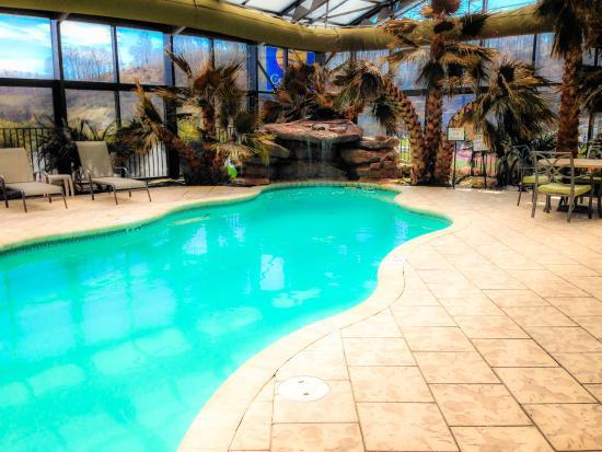 Wyndham Garden Hotel Cross Lanes Charleston Super Relaxing Pool