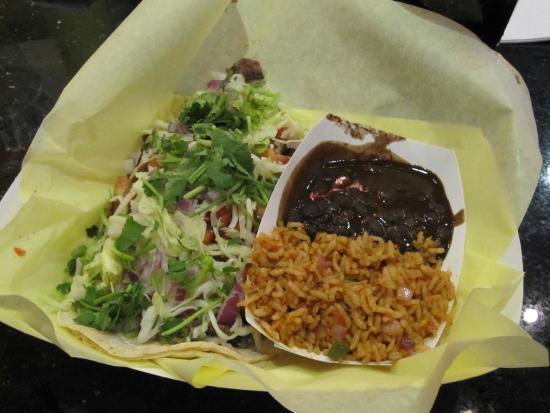 Rockin' Taco: Taco dinner