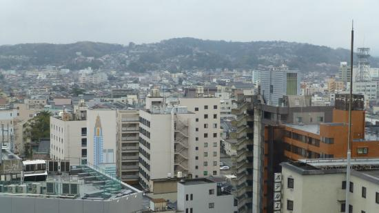 Hotel Kanazawa : Room View Floor 11