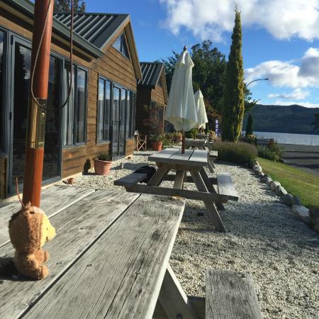 Lakefront Lodge: Very enjoyable view