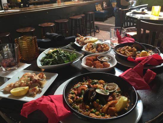 La Tasca : Weekend brunch-3 tapas for $20 and $2 sangria