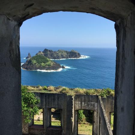Luzon, Filippijnen: View from the light house window