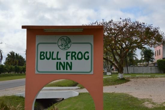 Bull Frog Inn: insegna