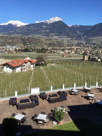 Hotel Residenz Pazeider: Blick vom Balkon