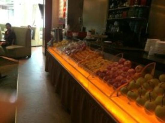 Kaili Motel: Sauna free fruit