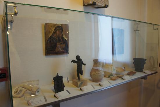 Torcello, Италия: музей на Торчелло. Часть экспозиции