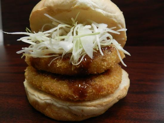 Burger and Cafe Joy : Croquette Burger