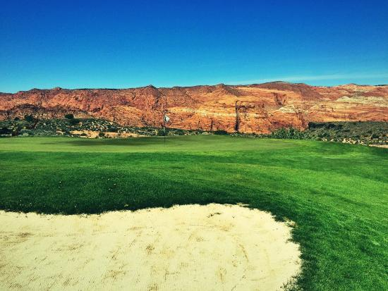 The Ledges Golf Club in St. George: Great back nine views