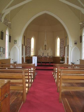 St Joseph's Church: Modest but beautiful inside of St Josephs