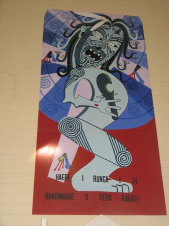 Sisters of Compassion - St Joseph's Church: A Modern Maori depiction of the crucifixion
