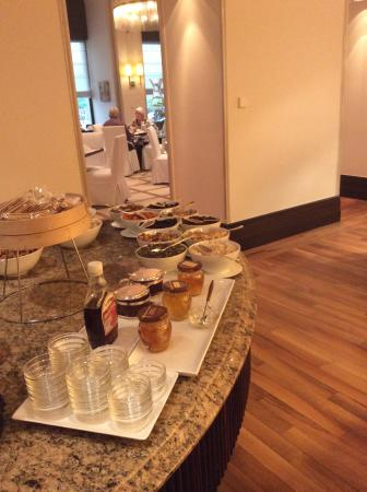 Breakfast Buffet Picture Of Esplanade Zagreb Hotel Tripadvisor