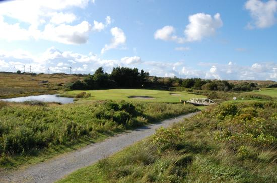 Corboley, Irland: par 3 13th bearna golf club