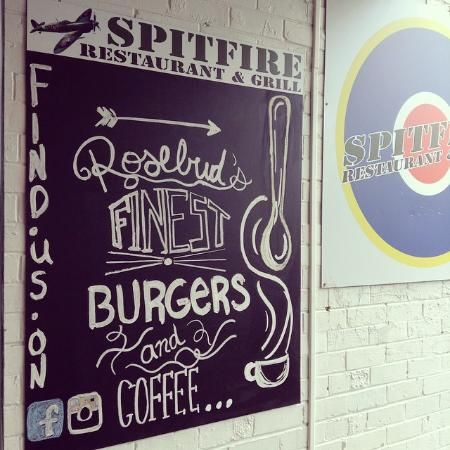 Spitfire Restaurant and Grill: Burgers and Coffee