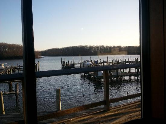 Georgetown, MD: View from our table.